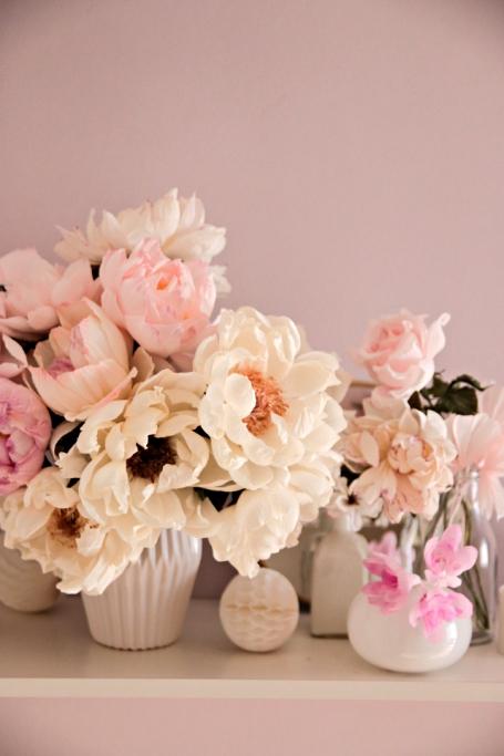 bouquet di sorpresa fiori di carta crespa